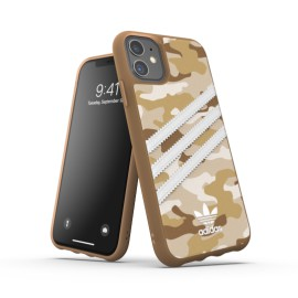 Etui Adidas do iPhone 11 Camo Brown/Gold
