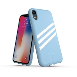 Etui Adidas do iPhone XR Moulded Suede Blue