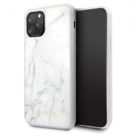 Etui Guess do iPhone 11 Pro Marble White
