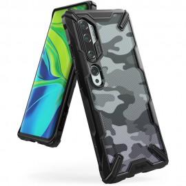 Etui Rearth Ringke Xiaomi Mi Note 10 Fusion-X Camo Moro Black