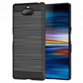 Etui CARBON Sony Xperia XA3 / Xperia 10 Black