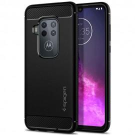 Etui Spigen Motorola Moto One Zoom Rugged Armor Black