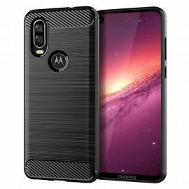 Etui Carbon Motorola Moto One Action Black