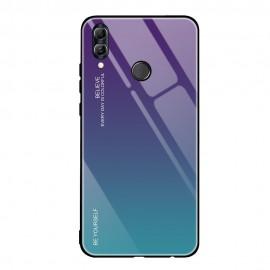 Etui Gradient Glass Huawei P Smart 2019 Blue/Violet