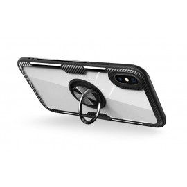 Etui Carbon Ring iPhone 7 / 8 Clear/Black