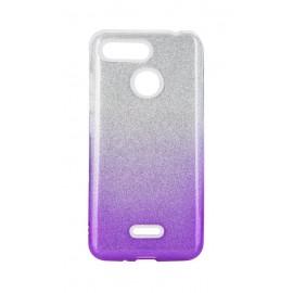 Etui SHINING Xiaomi Redmi Note 8T Clear/Violet