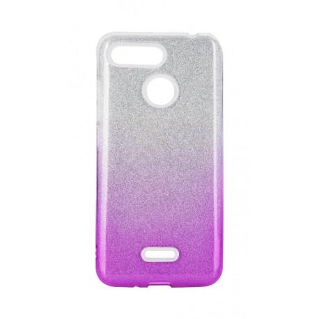 Etui SHINING Xiaomi Redmi Note 8T Clear/Pink