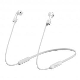Baseus uchwyt na szyję Sports do słuchawek Airpods 1/2 White