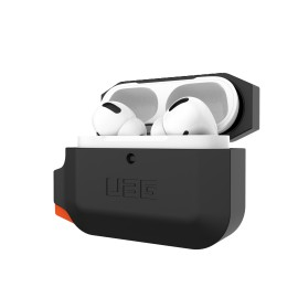 Etui UAG do Słuchawek Airpods Pro Silicone Black/Orange