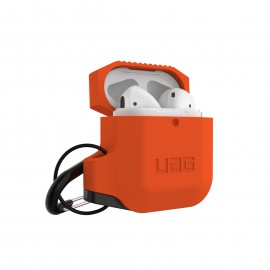 Etui UAG do Słuchawek Airpods 1/2 Silicone Orange