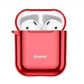 Etui Baseus do Słuchawek Airpods 1/2 Shining Hook Red