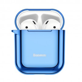 Etui Baseus do Słuchawek Airpods 1/2 Shining Hook Blue