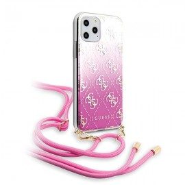 Etui Guess do iPhone 11 Pro Max 4G Gradient Pink