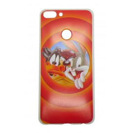Etui Looney Tunes Huawei P Smart Orange