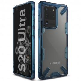 Etui Rearth Ringke Samsung Galaxy S20 Ultra G988 Fusion-X Blue
