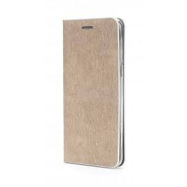 Etui Luna Book Huawei Y6 2019 Gold / Silver