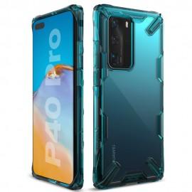 Etui Ringke Huawei P40 Pro Fusion-X Turquoise Green