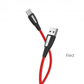 Kabel USB Typ C Metal Black