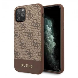 Etui Guess do iPhone 11 Pro 4G Stripe Brown