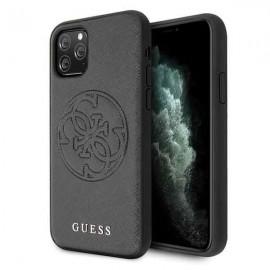 Etui Guess do iPhone 11 Pro 4G Saffiano Circle Logo Black