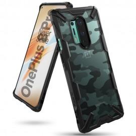 Etui Rearth Ringke Oneplus 8 Pro Fusion-X Camo Moro Black