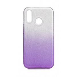 Etui Shining Samsung Galaxy A40S / M30 M305 Clear/Violet