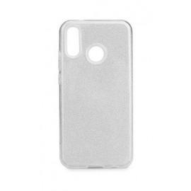 Etui Shining Samsung Galaxy A40S / M30 M305 Silver