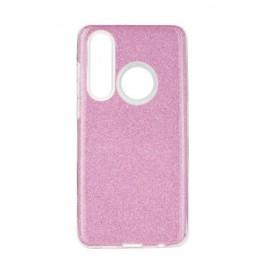 Etui Shining Samsung Galaxy A40S / M30 M305 Pink