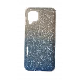 Etui Shining Huawei P40 Lite Clear/Blue