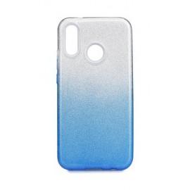Etui Shining Huawei P40 Lite E Clear/Blue