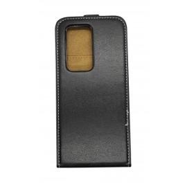 Kabura Flexi Fresh Pionowa Huawei P20 Black