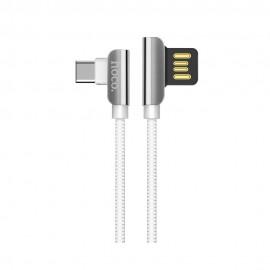 Kabel USB Typ HOCO kąt 90 stopni U42 White