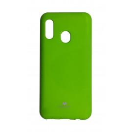 Etui Mercury do Samsung Galaxy A20e A202 Jelly Case Lime