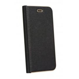 Etui Luna Book do Huawei P30 Black Gold