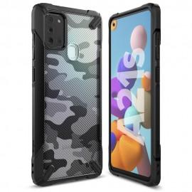 Etui Rearth Ringke Samsung Galaxy S20 G980 Fusion-X Camo Moro Black