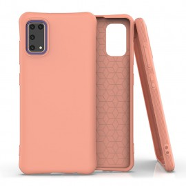 Etui Soft Color do Samsung Galaxy A41 A415 Orange