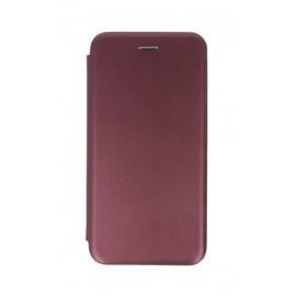 Etui Smart Diva Book LG K51s / LG K41s Burgundy