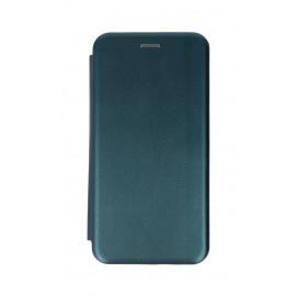 Etui Smart Diva Book do LG K51s / LG K41s Dark Green