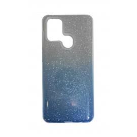 Etui SHINING do Samsung Galaxy A21s A217 Clear/Blue
