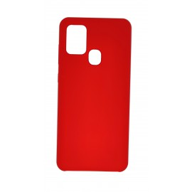 Etui Forcell Silicone do Samsung Galaxy A21s A217 Red