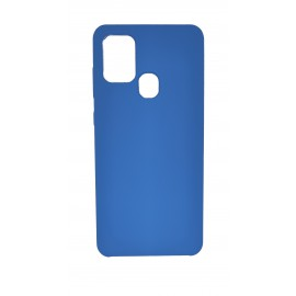 Etui Forcell Silicone do Samsung Galaxy A21s A217 Blue