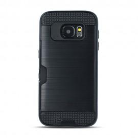 Etui Defender Card do Samsung Galaxy A7 2018 A750 Black