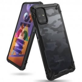 Etui Rearth Ringke do Samsung Galaxy M31s M317 Fusion-X Camo Moro Black