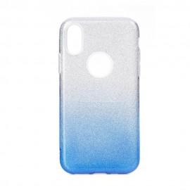 Etui Shining do Samsung Galaxy M31 M315 Clear/Blue