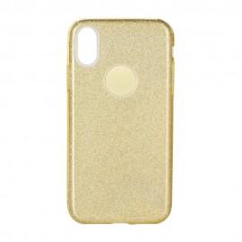 Etui Shining do Samsung Galaxy M31 M315 Gold