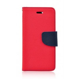 Etui Fancy Book do Xiaomi Redmi 9 Red / Dark Blue