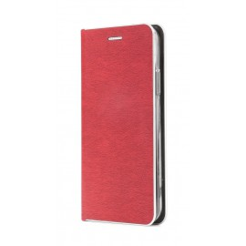 Etui Luna Book do Xiaomi Redmi 9 Red Silver