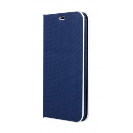 Etui Luna Book do Xiaomi Redmi 9 Blue Silver Carbon