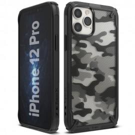 Etui Ringke do iPhone 12/12 Pro Camo (Moro) Black