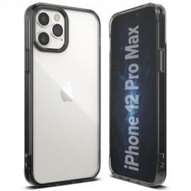 Etui Ringke do iPhone 12/12 Pro Fusion Smoke Black